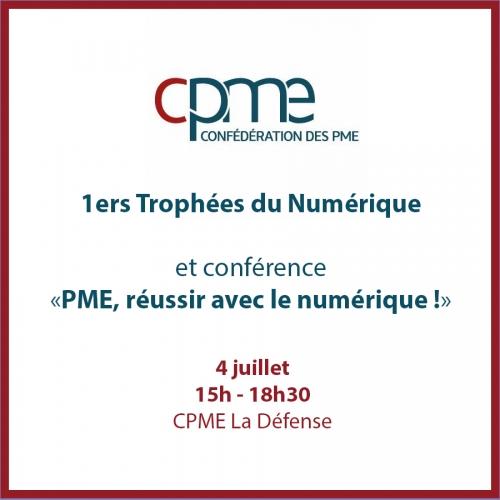 cpme, trophées numérique, conférence, la défense