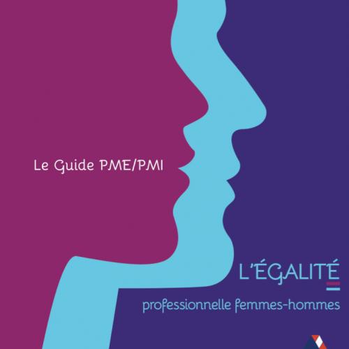 Illustration du guide pme pmi pour l'égalité professionnelle femmes/hommes
